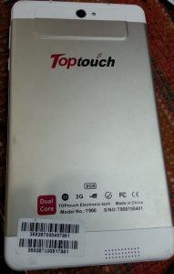 Toptouch T900 Flash File