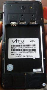 Vitu Mars 2 Flash File Firmware Download