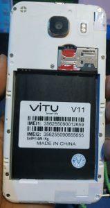 Vitu V11 Flash File Firmware Download