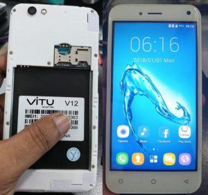 Vitu V12 Flash File Firmware Download