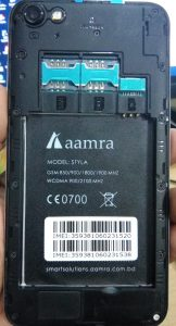 aamra Styla Flash File Firmware Download