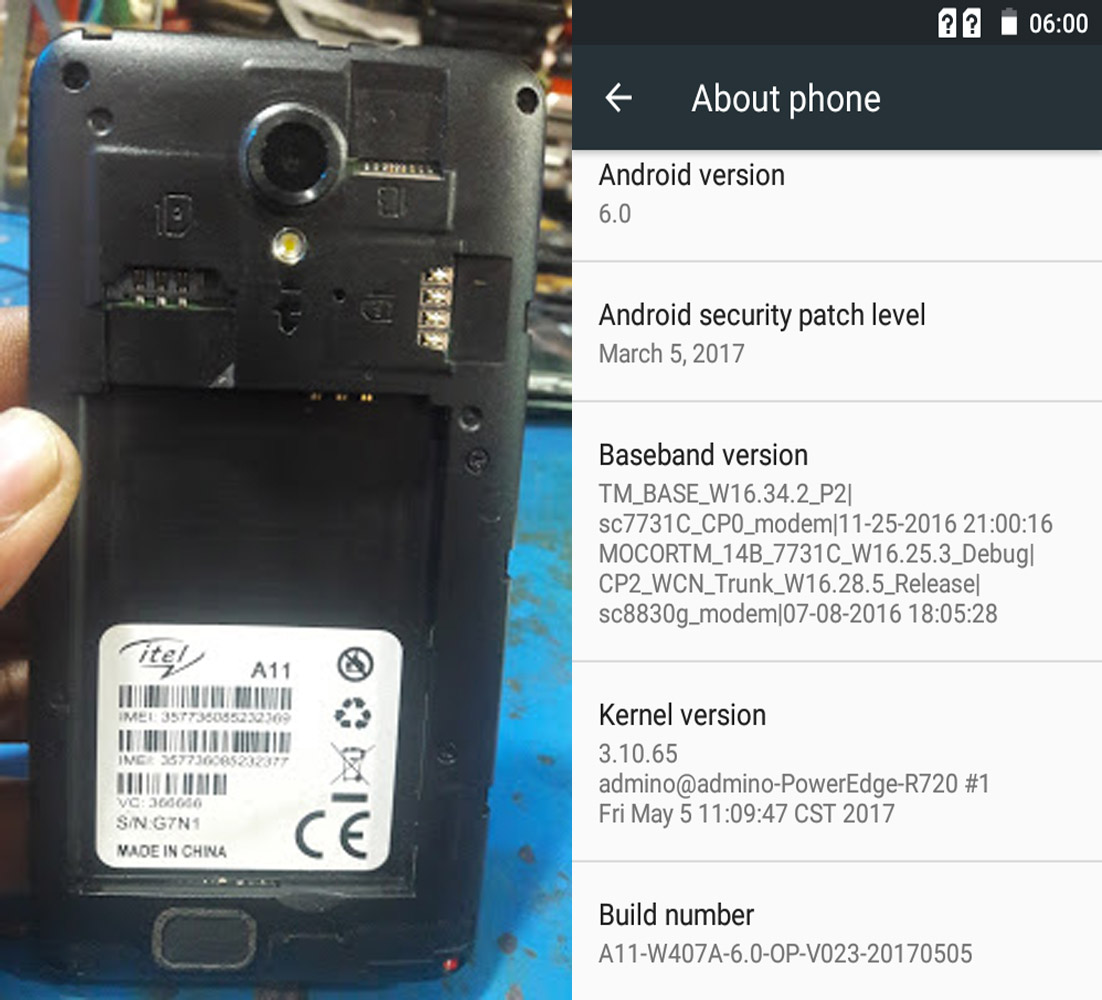 iTel A11 Flash File Firmware Download   EasyFlashFile