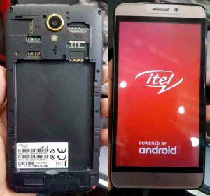 iTel A13 Flash File
