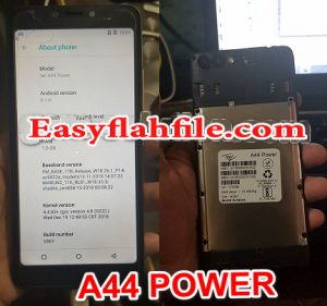 iTel A44 Power Flash File