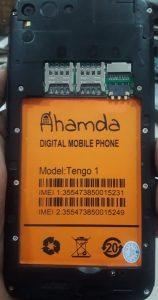 Ahamda Tengo 1 Flash File