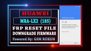 Huawei MRA-LX2 Frp Reset