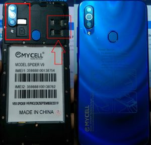 Mycell Spider V9 Flash File