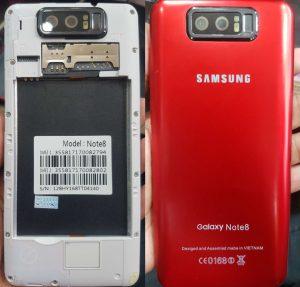 Samsung Clone Note8 Flash File