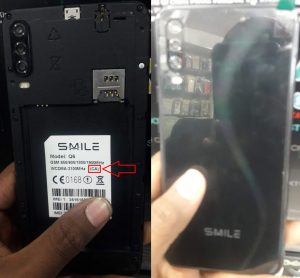 Smile Q6 Flash File Firmware GX EX FX All Version
