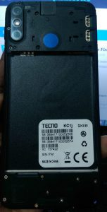 Tecno KC1j Flash File