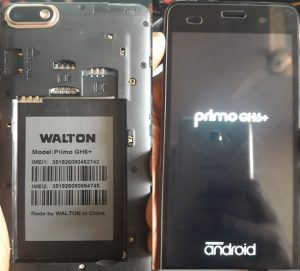 Walton Primo GH6+ Flash File