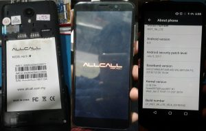 Allcall Hot 9X Lte Flash File