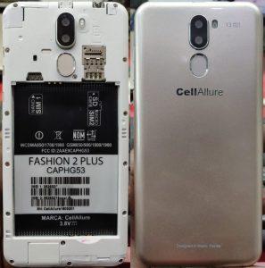CellAllure Fashion 2 Plus Flash File