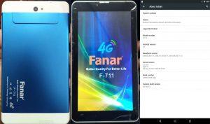 Fanar F-711 Tab Flash File