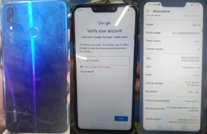 Huawei ine-LX2 Frp Reset