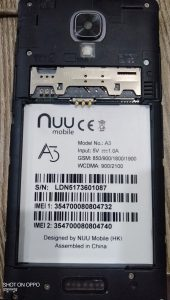 Nuu A3 Flash File