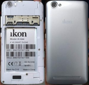 iKon ik-644 Flash File