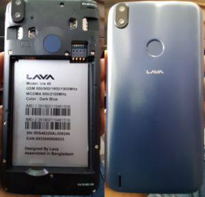 Lava Iris 46 LH9950 Flash File