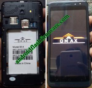 Omax M4 Flash File