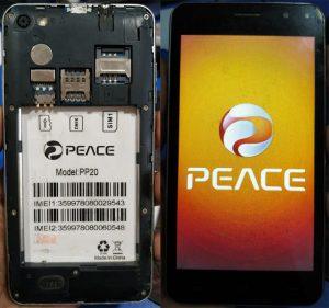 Peace PP20 Flash File