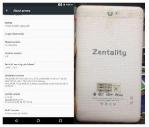 Zentality C-723 Ultra Flash File