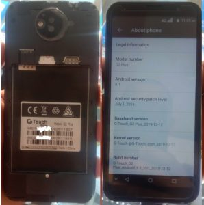 Gtouch G2 Plus Flash File