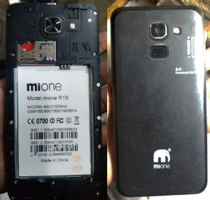 Mione R1s Flash File