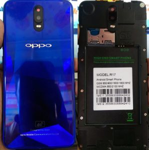 Oppo Clone R17 Flash File