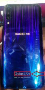 Samsung Clone A70 Flash File