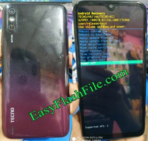 Tecno KC1 Flash File