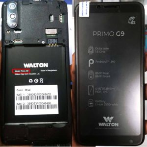 Walton Primo G9 FRP Bypass Reset File