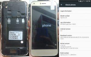 Gphone A4 Flash File
