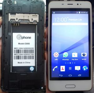 Gphone G666 Flash File