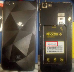 Huawei Clone A3 Flash File