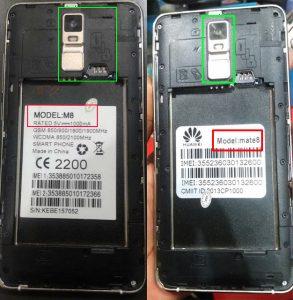 Huawei Clone M8 or K2 or Mate8 Flash File