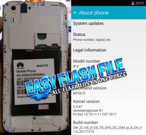 Huawei Clone P20 Flash File