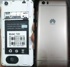 Huawei Clone T20 Flash File
