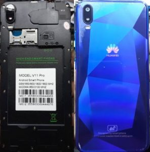 Huawei Clone V11 Pro Flash File
