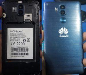 Huawei Clone X8s Flash File