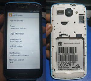 Huawei Y520-U12 Flash File
