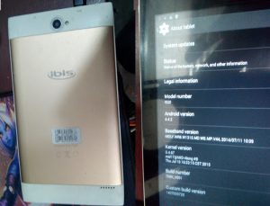 Ibis I520 Tab Flash File Firmware Download