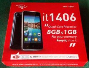Itel it1406 Flash File