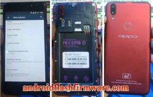 OPPO Clone Nova 3 Flash File