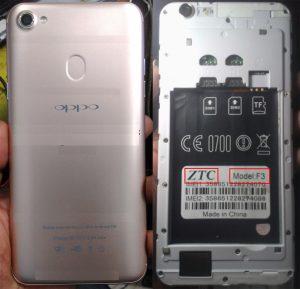 Oppo Clone ZTC F3 Flash File