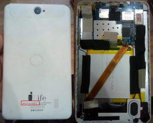 iLife Itell K3300SW Tab Flash File Firmware Download