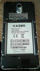 Kzen Ureki U1 Flash File Firmware Download