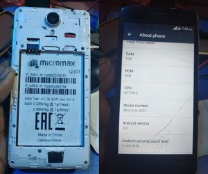 Micromax Q351 Flash File Firmware Download