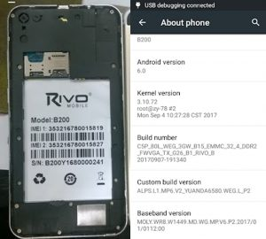 OPPO Clone Rivo B200 Flash File Firmware Download