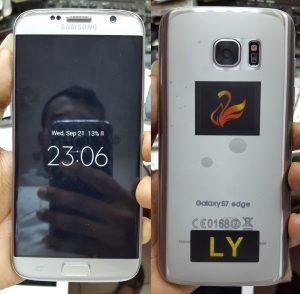 Samsung Clone Galaxy S7 edge Flash File