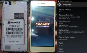 Smart S20 Flash File Firmware Download